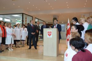 Bochorishvili Clinic Opening Day