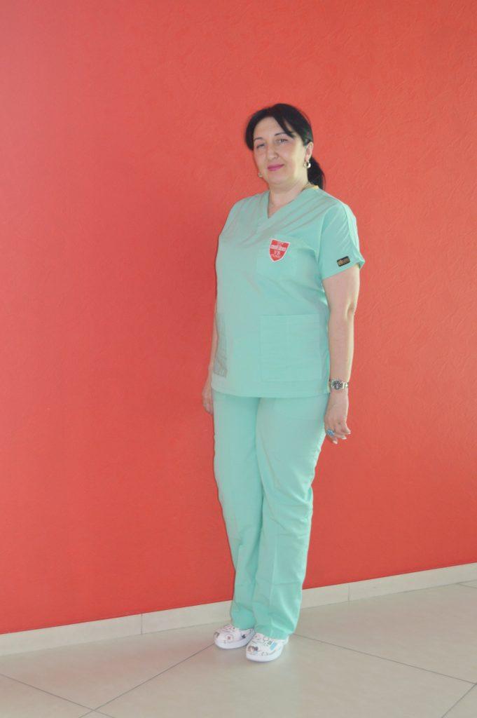 ლელა თელია - აკადემიკოს ვახტანგ ბოჭორიშვილის კლინიკის მთავარი მედდა